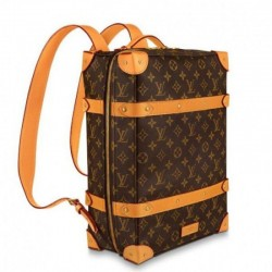 Louis Vuitton Soft Trunk Rucksack PM Monogram Canvas M44752