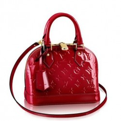 Louis Vuitton Alma BB Monogram Vernis M91606