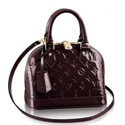 Louis Vuitton Alma BB Monogram Vernis M91678