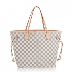 Louis Vuitton Neverfull MM Damier Azur N51107