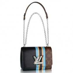 Louis Vuitton Twist MM Monogram Canvas M42346